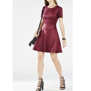 BCBG | Suede Dress